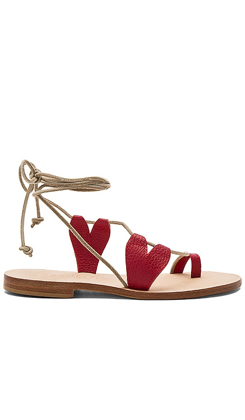 CoRNETTI Scilla Sandal in Red