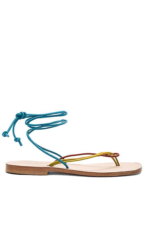 CoRNETTI Favignana Sandal in Teal