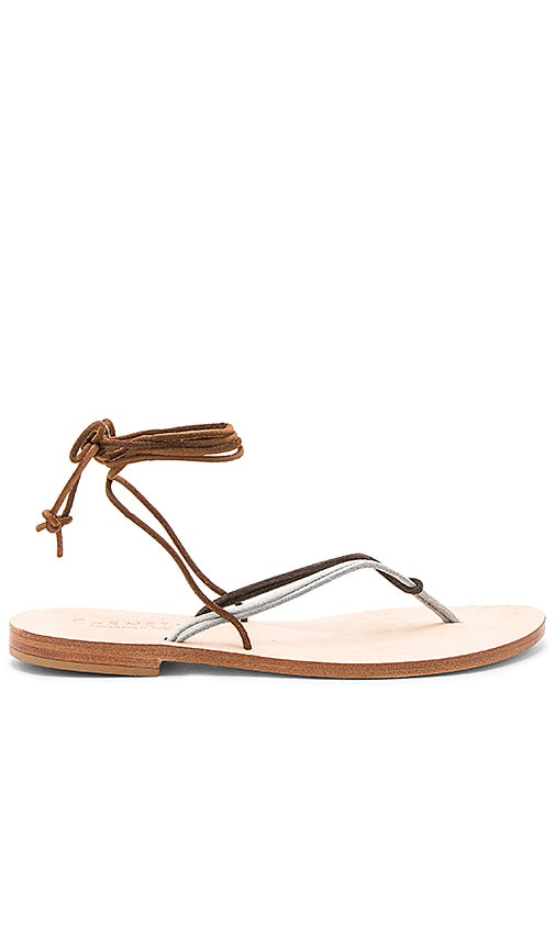 CoRNETTI Favignana Sandal in Brown