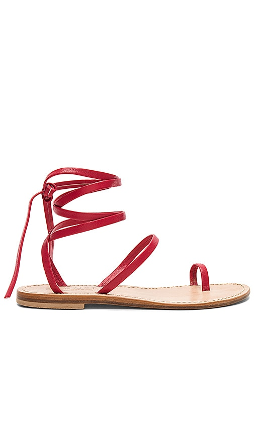 CoRNETTI Alicudi Sandal in Red
