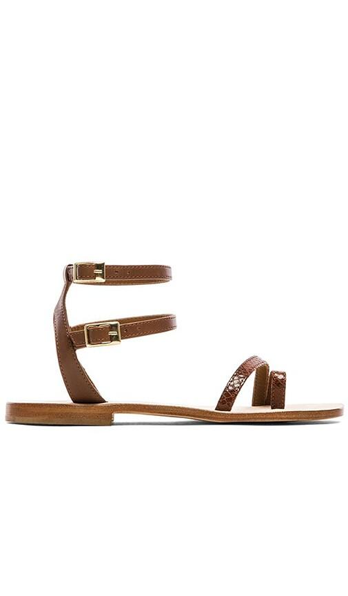CoRNETTI Carrubina Sandals in Tanned