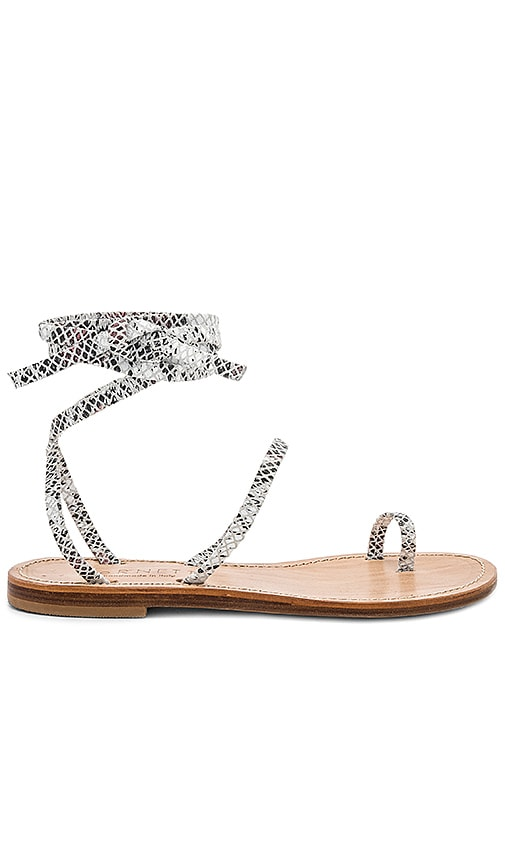 CoRNETTI Alicudi Sandal in Gray