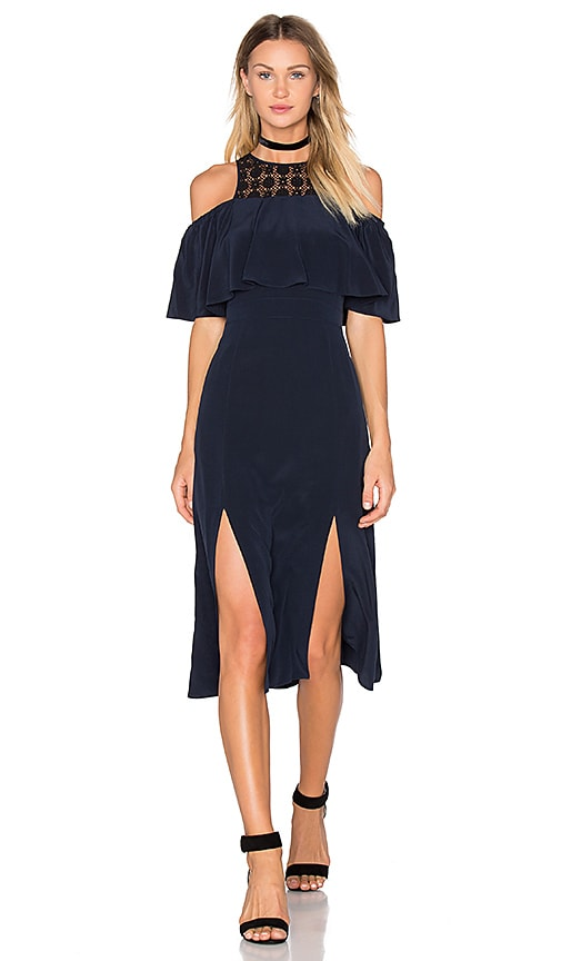 Cosette Amie Dress in Navy