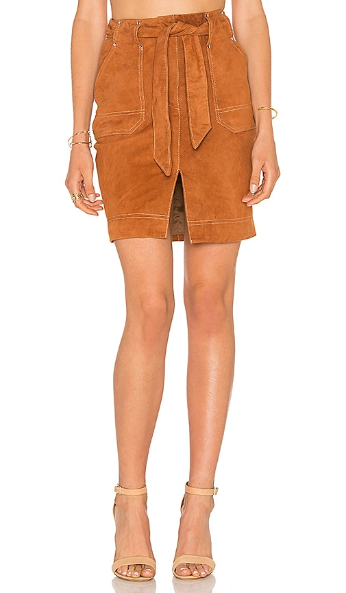 Cosette Nouel Skirt in Tan