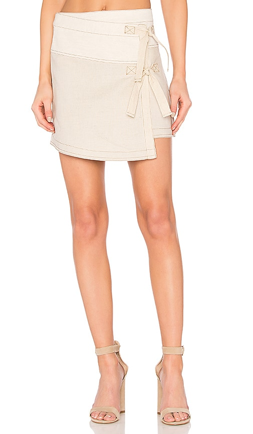 Cosette Faye Skirt in Beige