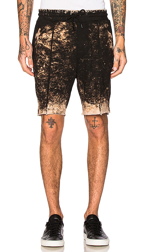 COTTON CITIZEN The Cobain Shorts in Black