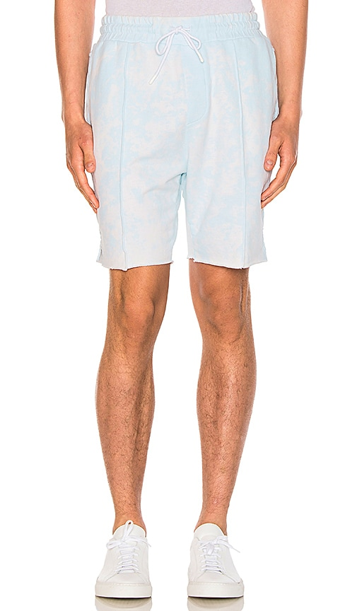 COTTON CITIZEN The Cobain Shorts in Baby Blue