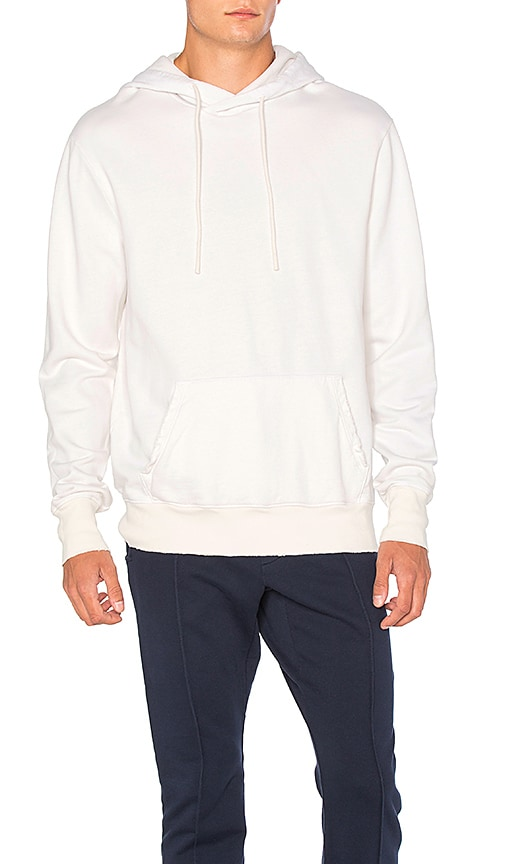 COTTON CITIZEN The Cobain Pullover in White