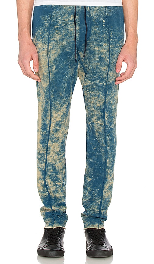 COTTON CITIZEN The Cobain Pant in Blue