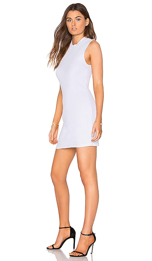 COTTON CITIZEN The Monaco Mini Dress in White