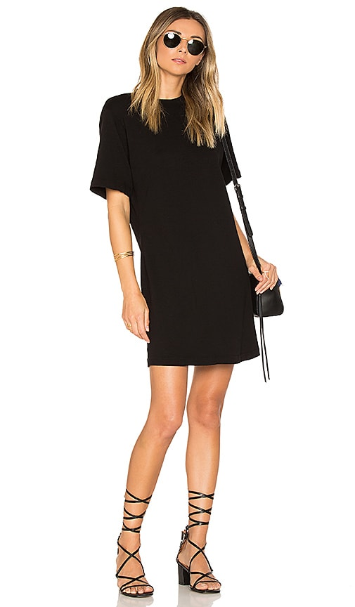COTTON CITIZEN The Tokyo Mini Dress in Black