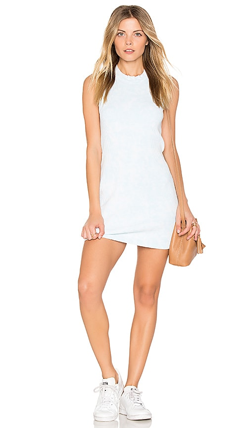 COTTON CITIZEN The Monaco Mini Dress in Blue