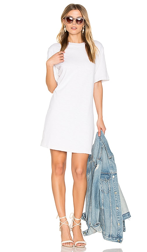 COTTON CITIZEN The Tokyo Mini Dress in White