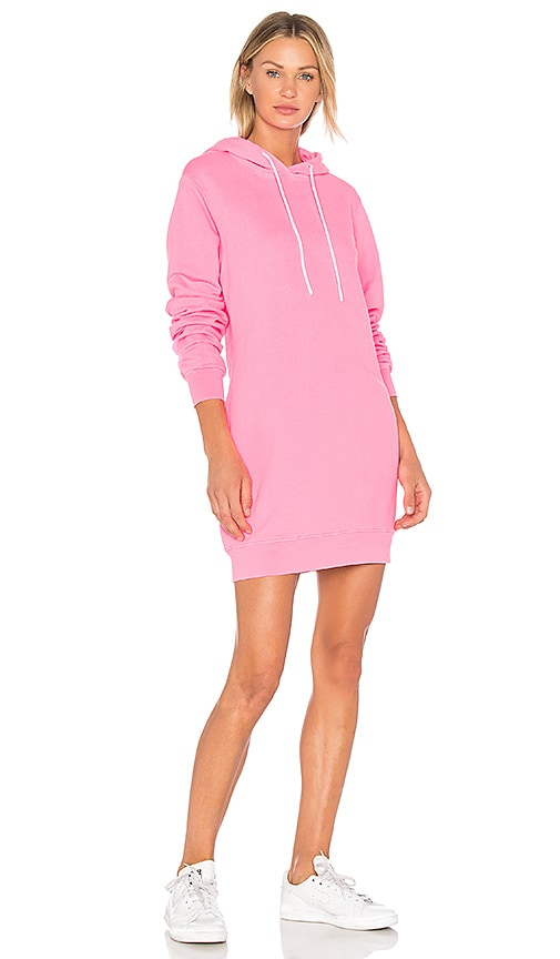 COTTON CITIZEN Sweatshirt Dress in Pink