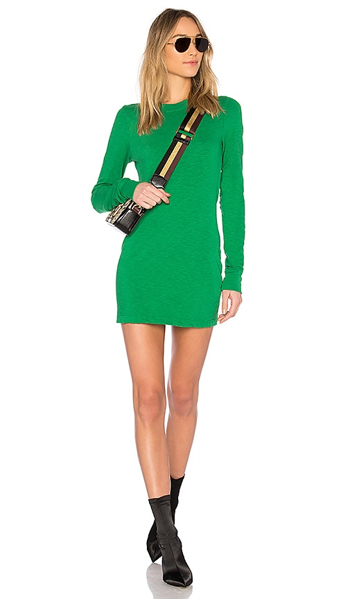 COTTON CITIZEN The Toyko Mini Dress in Green