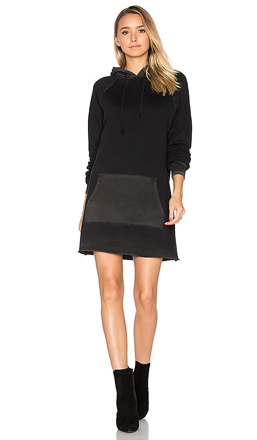 COTTON CITIZEN The Milan Long Sleeve Dress in Black