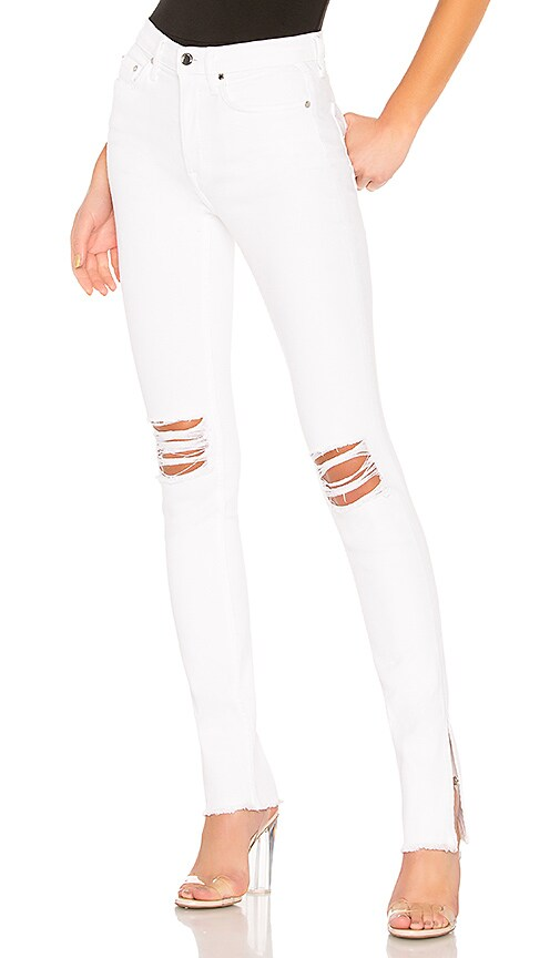 COTTON CITIZEN High Split Jean in White