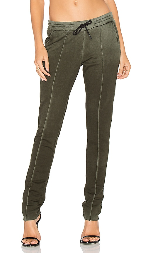 COTTON CITIZEN Milan Trouser Pant in Olive