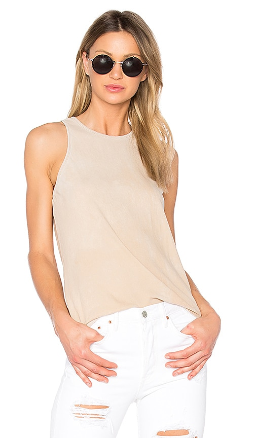 COTTON CITIZEN The Marbella Tank in Beige
