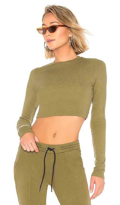Venice Crop Long Sleeve