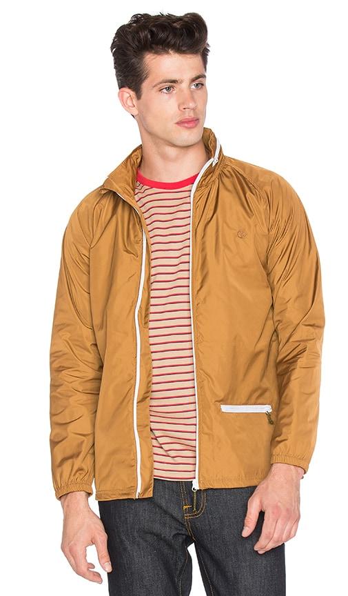 Captain Fin Monsoon Jacket in Cognac