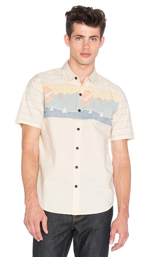 Captain Fin Sailing Shirt in Beige