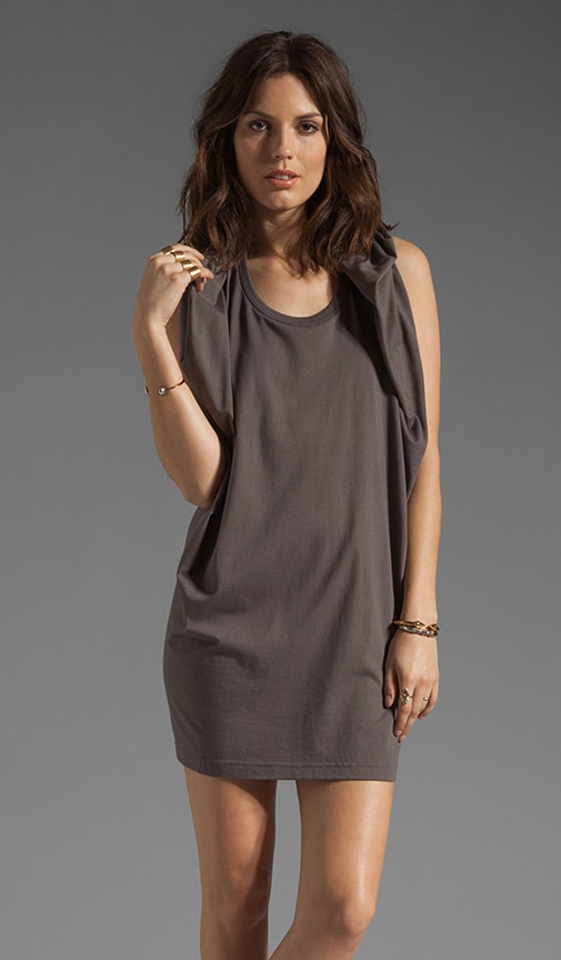 Square Hood Racerback Dress