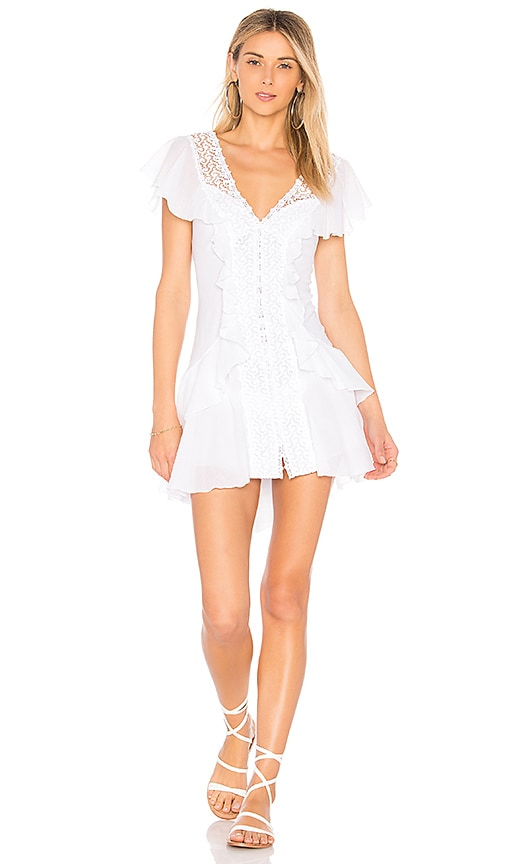 Charo Ruiz Lucia Dress in White