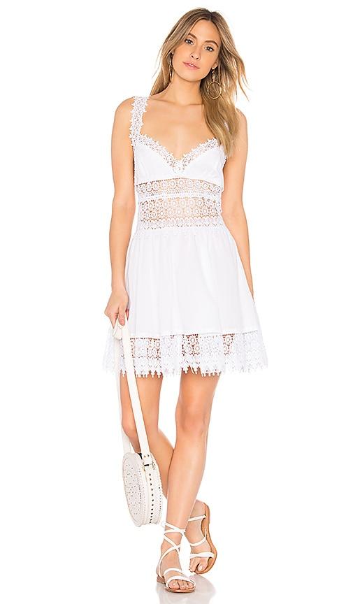 Charo Ruiz Ibiza Marilyn Dress in White