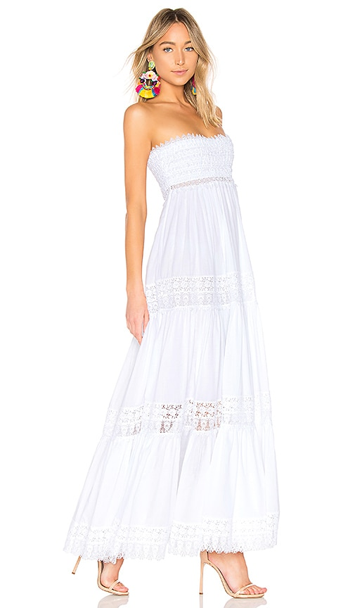 Charo Ruiz Zoe Dress in White