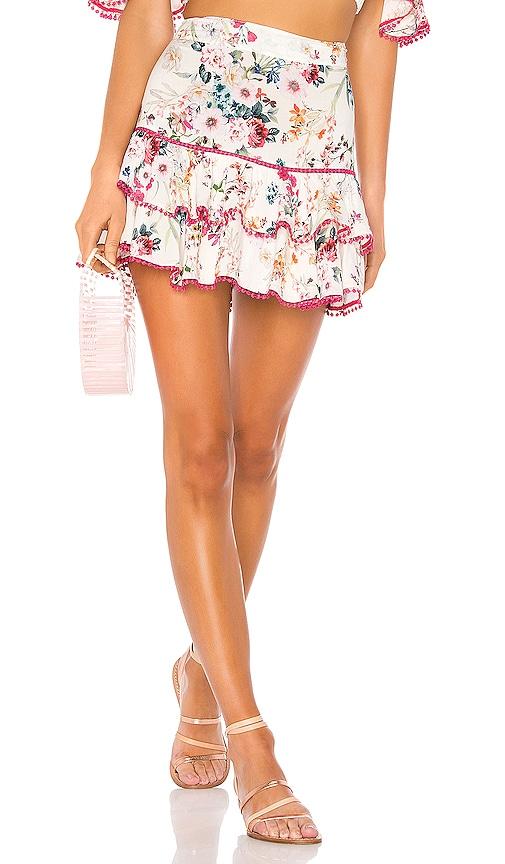 Fera Floral Short Skirt