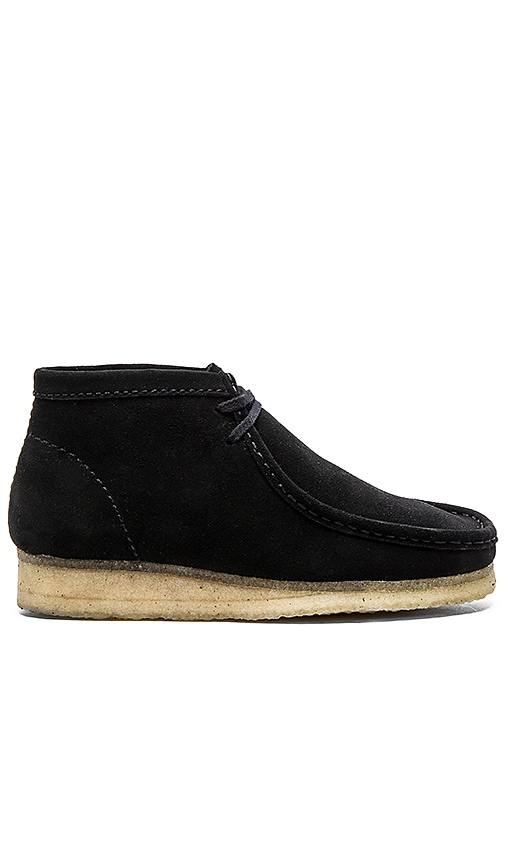 Clarks Originals Wallabee Boot in Black