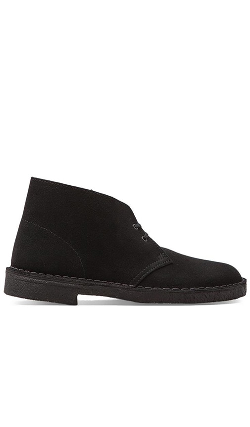 Clarks Originals Desert Boot in Black