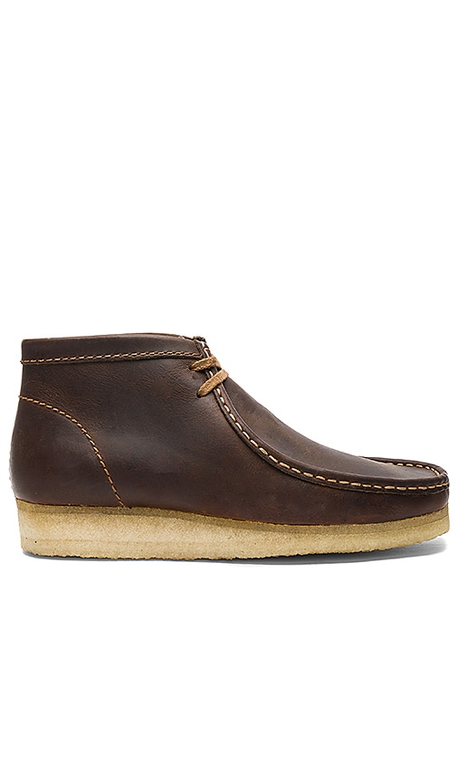 Clarks Wallabee Boot in Brown