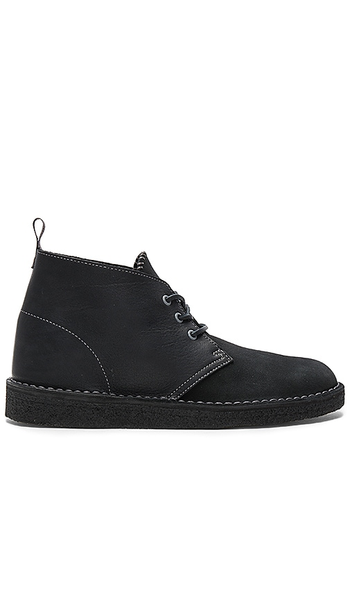 Clarks Desert Coal Boots in Black