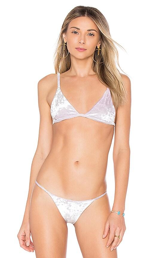 Chloe Rose Star Gazer Bikini Top in Lavender
