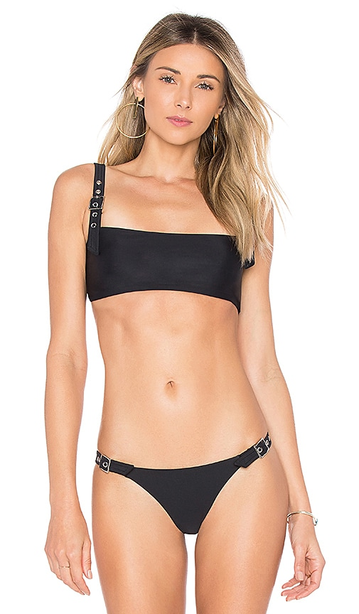 Forget Me Not Bikini Top in Black & White. - size S (also in L,M,XS) Chloe Rose
