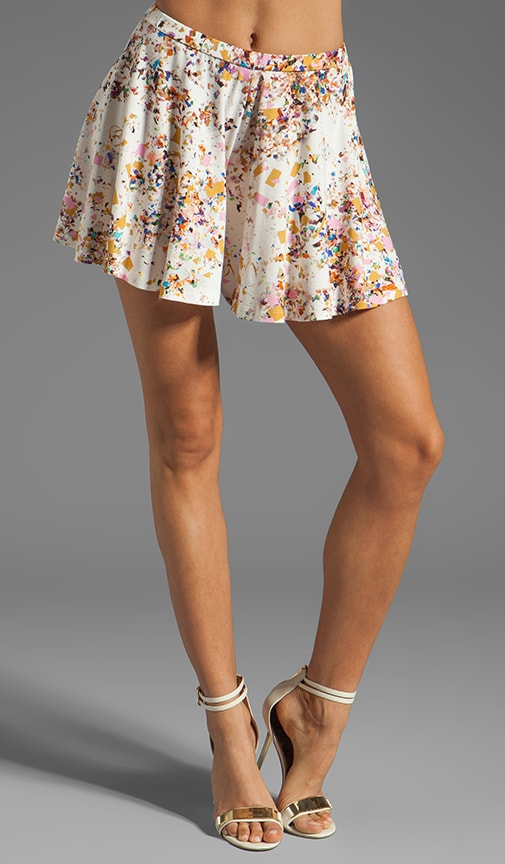 Printed Jersey Floral Short