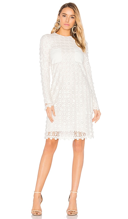 Carven Mini Dress in White
