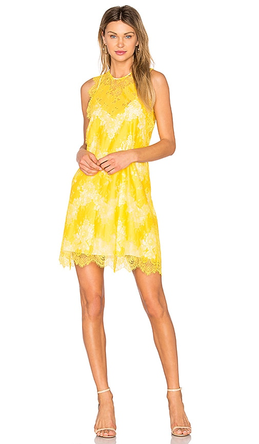 Carven Mini Dress in Yellow