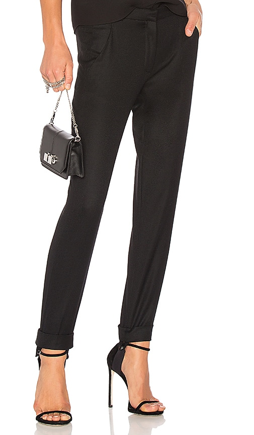 Carven Cigarette Pant in Black