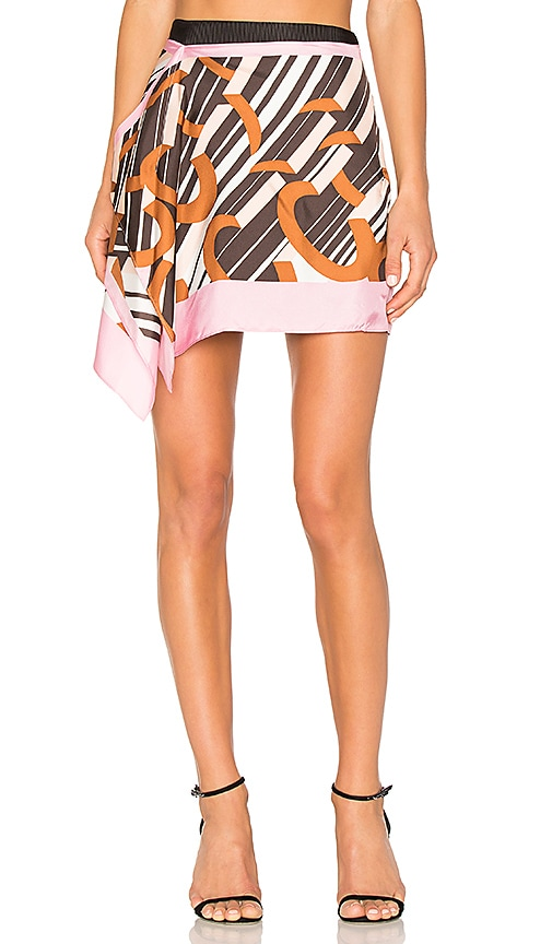 Carven Mini Skirt in Pink