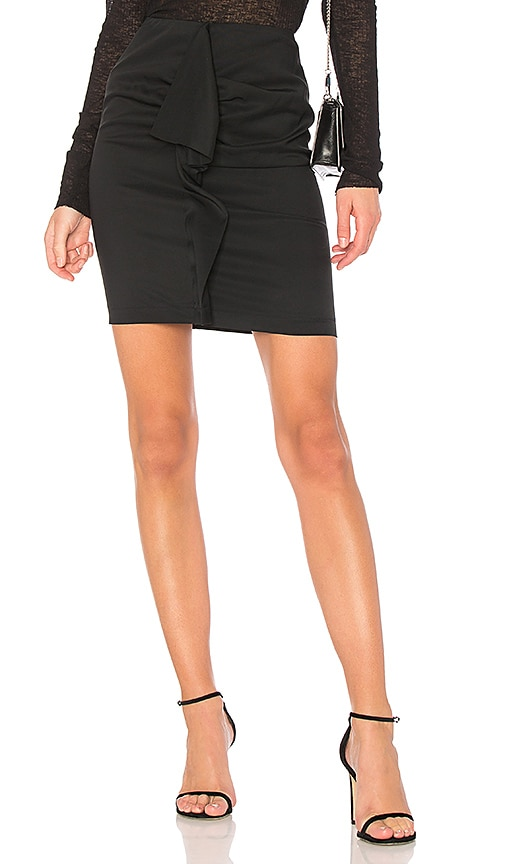 Carven Deconstructed Skirt in Black