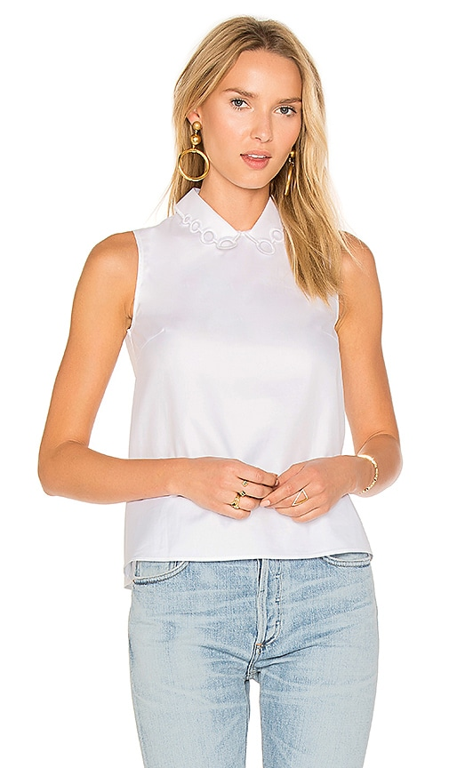 Carven Blouse in White