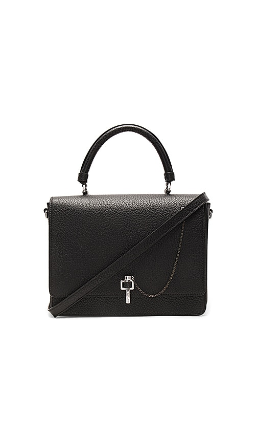 Carven Malher Shoulder Bag in Black