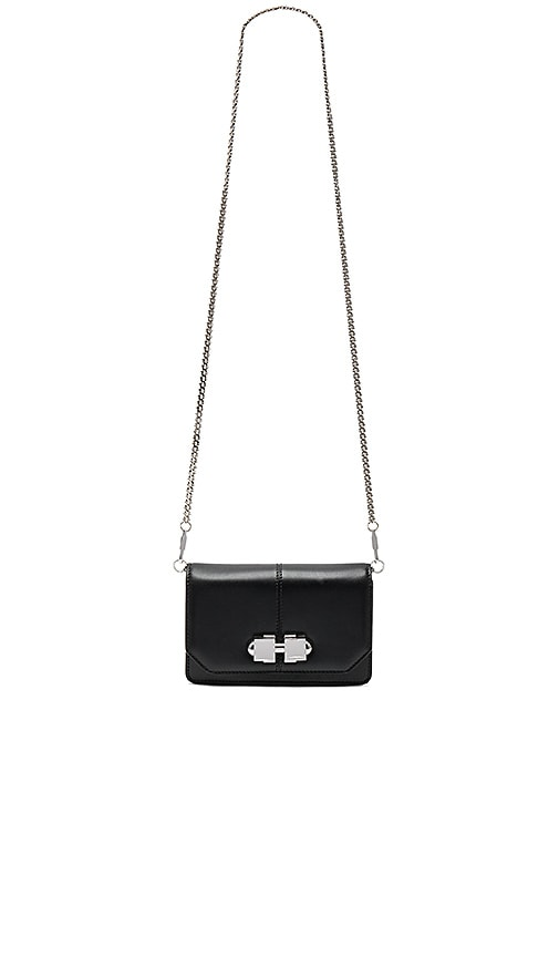 Carven Fully Joy Crossbody Bag in Black