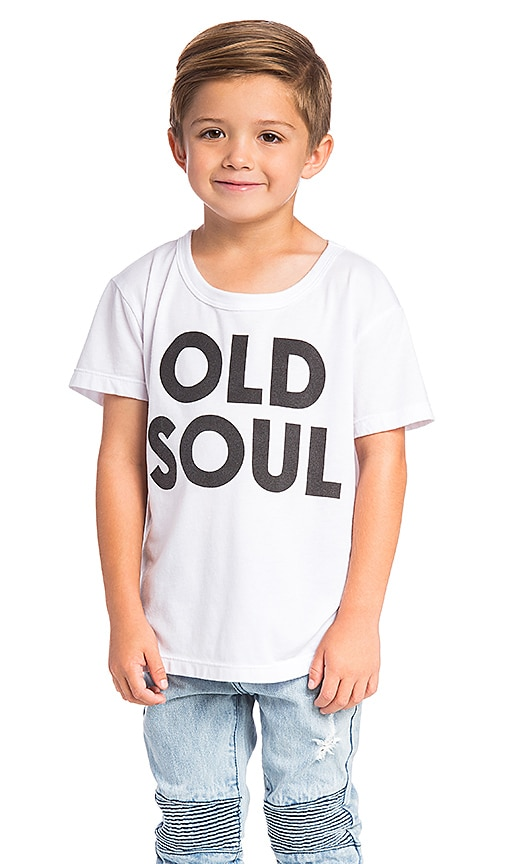 Chaser Old Soul Tee in White