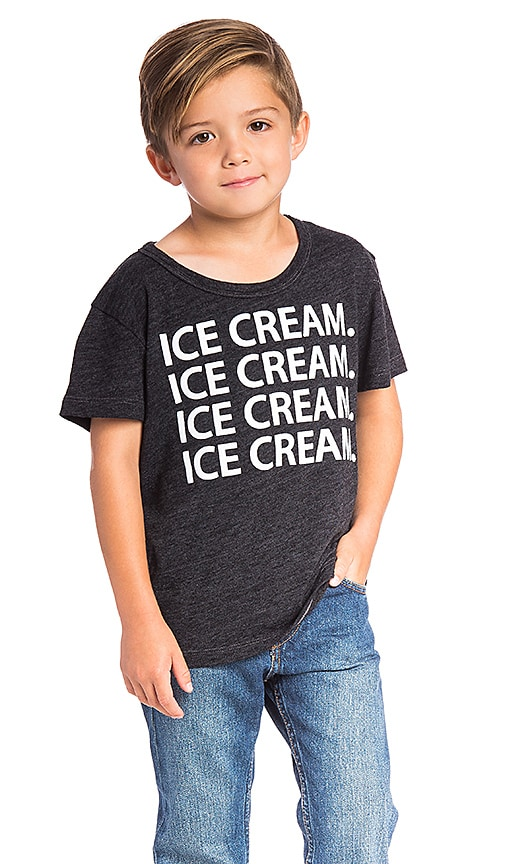 Chaser Ice Cream Tee in Black
