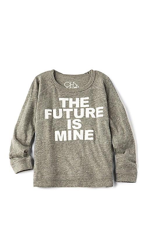 Chaser Future Is Mine Sweatshirt in Gray