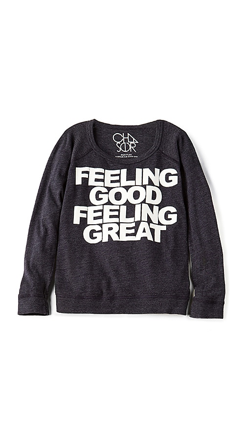 Chaser Feeling Good Sweatshirt in Navy
